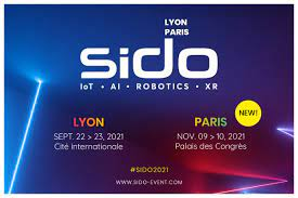 SIDO 2021 22-23 sept – Lyon  9-10 nov Paris