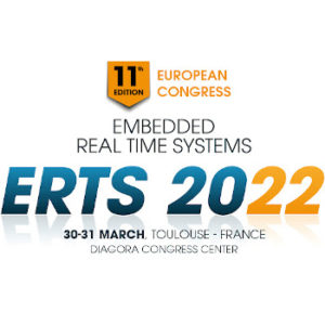 ERTS 2022 – 30 & 31 March 2022, Toulouse